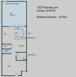 12527 Fallcreek Lane, Cerritos, CA 90703