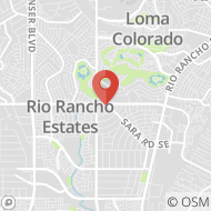 Map to 3188 Southern Blvd SE, Rio Rancho, NM 87124