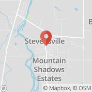 Map to 406 Main Street, Stevensville, MT 59870