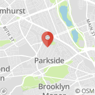 Map to 68-56 Groton St., Forest Hills, NY 11375