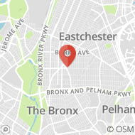 Map to 985 Allerton Avenue, Bronx, NY 10469