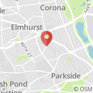 Map to 91-06 63rd Drive, Rego Park, NY 11374