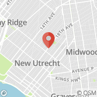 Map to 6203 18th Avenue, Brooklyn, NY 11204