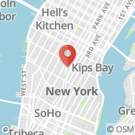 Map to 22 East 21st Street, #5F, New York, NY 10010