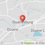 Map to Corner of Rt. 7 & Rt. 20, Duanesburg, NY 12056