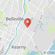 Map to 142 Ridge Road, North Arlington, NJ 07031