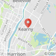 Map to 148 Midland Ave, Kearny, NJ 07032