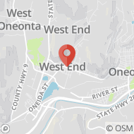 Map to 416 Chestnut Street, Oneonta, NY 13820