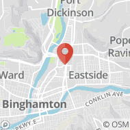 Map to 39 Frederick Street, Binghamton, NY 13901