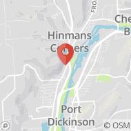 Map to 1163 Upper Front Street, Binghamton, NY 13905