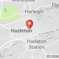Map to 702 North Church Street, Hazleton, PA 18201