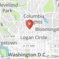 Map to 1931 15th St, NW, Washington, DC 20009