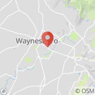 Map to 2021 E Main Street, Waynesboro, PA 17268