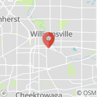 Map to 1127 Wehrle Drive, Williamsville, NY 14221