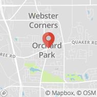 Map to 6556 E. Quaker Street, Orchard Park, NY 14127