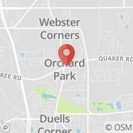 Map to 6556 E. Quaker Street, Orchard Park, NY 14127