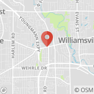 Map to 5152 Main St., Williamsville, NY 14221