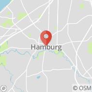 Map to 47 Buffalo St, Hamburg, NY 14075