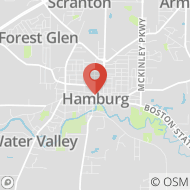 Map to 47 Buffalo St, Hamburg, NY 14075