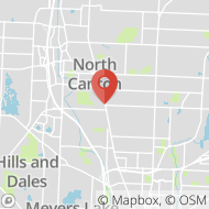 Map to 1375 South Main Street, Suite 201, North Canton, OH 44720