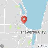 Map to 13919 S West Bay Shore Dr, Suite 104, Traverse City, MI 49684