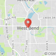 Map to , West Bend, WI