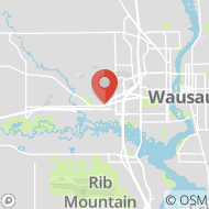 Map to 3315 Terrace Court, Wausau, WI 54401