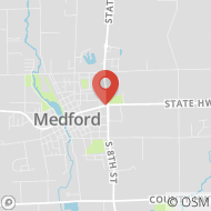 Map to 741 E. Broadway Ave, Medford, WI 54451