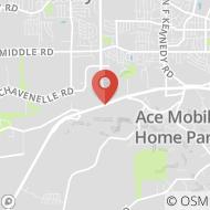 Map to 4496 Dodge Street, Dubuque, IA 52003
