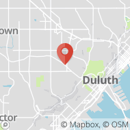Map to 2818 Piedmont Avenue, Suite D, Duluth, MN 55811