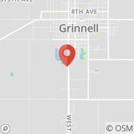 Map to 615 Horseshoe Dr., Grinnell, IA 50112