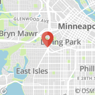 Map to One Groveland Terrace, Minneapolis, MN 55403