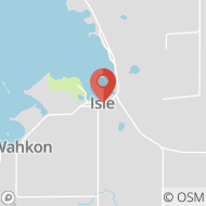 Map to 277 W. Main St, Isle, MN 56342