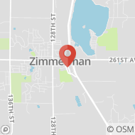 Map to 25930 2nd St. E, Zimmerman, MN 55398