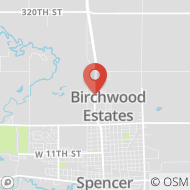 Map to 2402 Highway Boulevard, Spencer, IA 51301