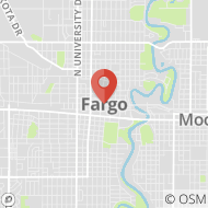 Map to , Fargo, ND