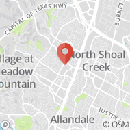 Map to 3737 Executive Center Drive, Suite 101, Austin, TX 78731