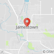 Map to COMING SOON, Jamestown, ND